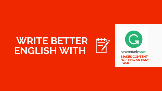 Make Corrections to your draft content with Grammarly