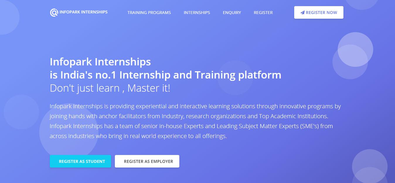 Get Internship at Infopark Kochi